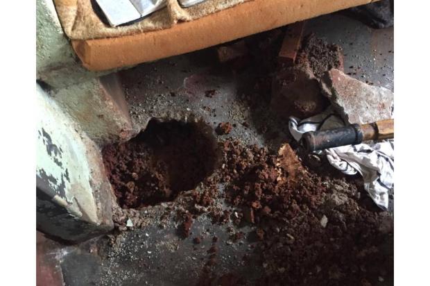 Agentes descobrem túnel em cela do presídio de Lagoa Vermelha Susepe / Divulgação/Divulgação