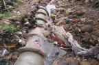 Mais de 100 toneladas de entulhos são retirados do bairro Cânyon, em Caxias, após temporal (Prefeitura de Caxias do Sul/Divulgação)