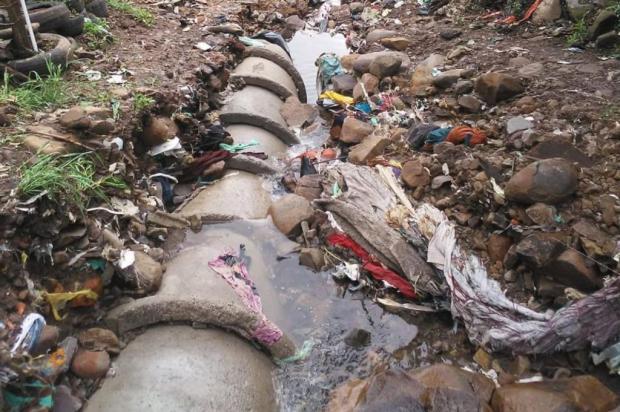 Mais de 100 toneladas de entulhos são retirados do bairro Cânyon, em Caxias, após temporal Prefeitura de Caxias do Sul/Divulgação