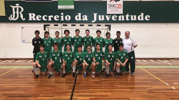 Recreio da Juventude venceu quatro jogos na segunda fase do Estadual Infantil Masculino Foto: Recreio da Juventude / Divulgação/Divulgação