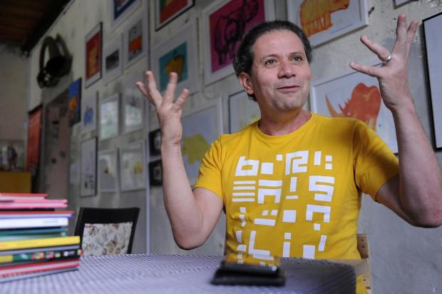 Ilustrador ligado ao Instituto Quindim, Roger Mello concorre a prêmio internacional Marcelo Casagrande/Agencia RBS
