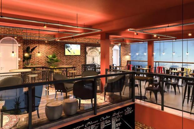 Caxias do Sul terá pub com temática belga Proarch Studio Render/Divulgação