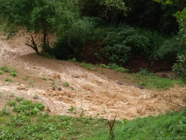 Lagoa rompe duas vezes em 12 dias, mata dezenas de peixes e deixa prejuízo em hotel de Caxias Luiz Bonatto / divulgação/divulgação