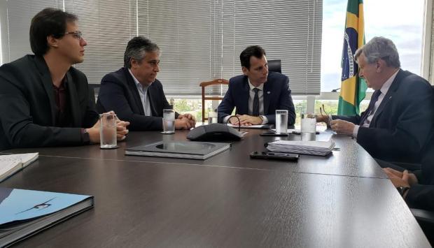 Garantido empenho de R$ 3 milhões para projeto do aeroporto de Vila Oliva, em Caxias do Sul Claudio Santa Catarina/Divulgação