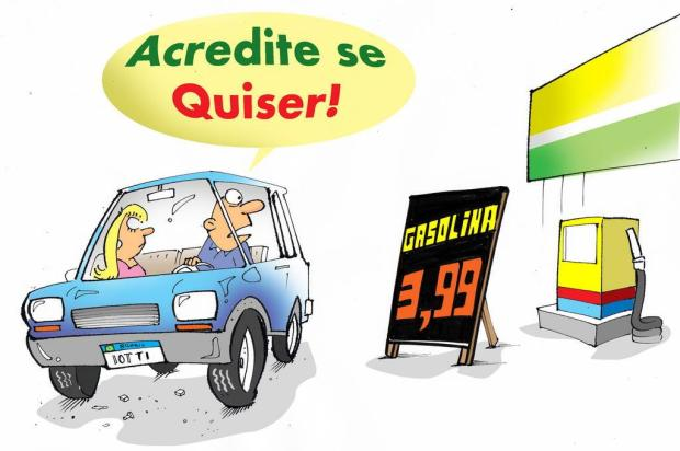 Iotti: gasolina a R$ 3,99 em Caxias do Sul Iotti/Iotti