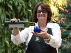 Maria Beatriz Dal Pont representa azeites gaúchos no Mesa São Paulo Eduardo Mangoni/Divulgação