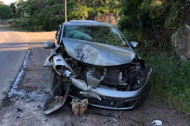 Bebê de sete meses se salva de acidente que vitimou a mãe dele em Antônio Prado Divulgação / Corpo de Bombeiros de Antônio Prado/Corpo de Bombeiros de Antônio Prado