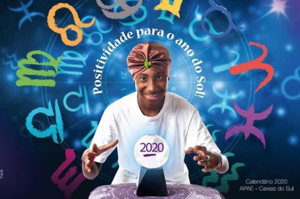 Calendários da Apae 2020 estão disponíveis para compra em Caxias Andrei Cardoso/Divulgação