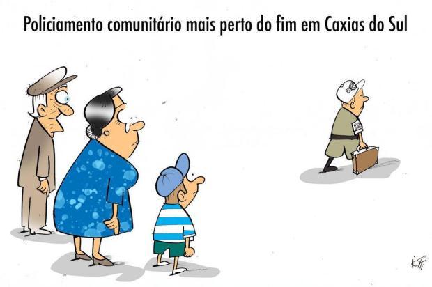 Iotti: policiamento comunitário mais perto do fim em Caxias do Sul Iotti/Iotti