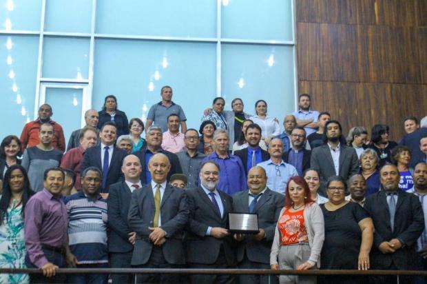 UAB e movimento comunitário de Caxias recebem homenagem na Assembleia Legislativa Fabrício Santos/Divulgação