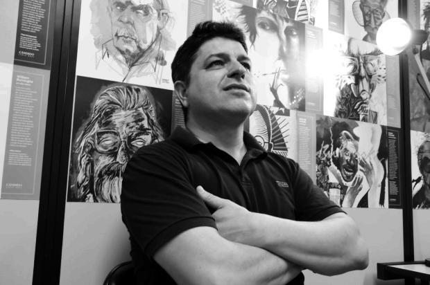 Altair Martins lança o romance Os donos do inverno, em Caxias Davi Boaventura/Divulgação