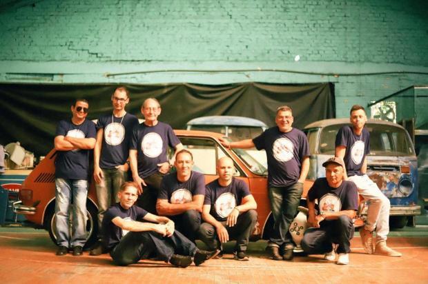 Contra o câncer e em meio a relíquias automotivas Fábio Rosa/divulgação
