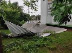 Vendaval causou pelo menos R$ 4,2 milhões de prejuízo em Lagoa Vermelha Luciano Andrade / Divulgação/Divulgação