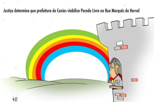 Iotti: Justiça determina que prefeitura de Caxias viabilize Parada Livre na Rua Marquês do Herval Iotti/Iotti