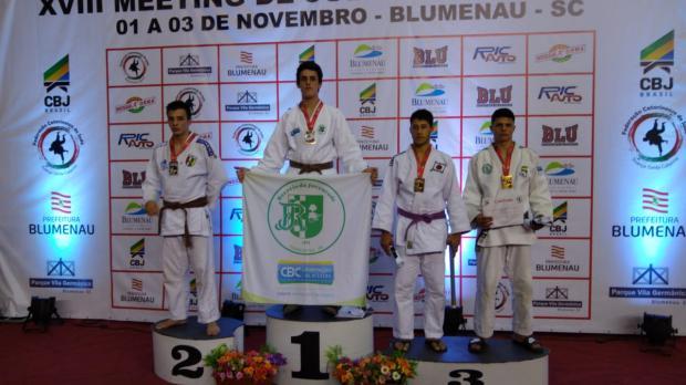 Recreio da Juventude fatura cinco medalhas em competição interestadual de judô Recreio da Juventude / Divulgação/Divulgação