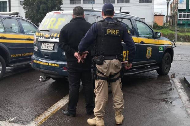 Homem procurado pela justiça é preso pela PRF em Caxias PRF/Divulgação