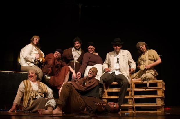 Cia Acto, de Garibaldi, apresenta espetáculo dedicado ao bufão Saulo Reis/Divulgação
