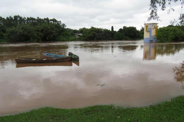 18 famílias estão desabrigadas em função da cheia do Rio Caí Ricardo Marques/Divulgação Prefeitura