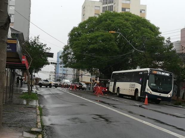 Em Caxias, problemas causados pela chuva já foram solucionados Sarah Carvalho / Agencia RBS/Agencia RBS