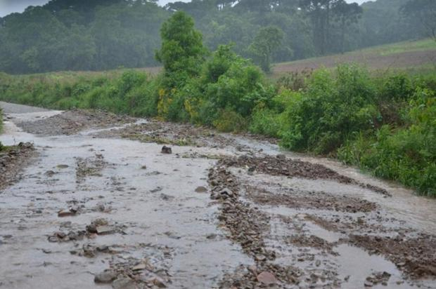 Nova Bassano decreta situação de emergência após fortes chuvas Prefeitura de Nova Bassano/Divulgação