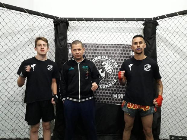 Lutadores representarão a Serra em um dos maiores eventos de muay-thai do país Divulgação / Clube da Luta TeamCorrea/Clube da Luta TeamCorrea