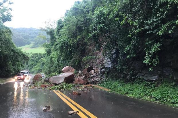 Chuva na Serra: confira os pontos com bloqueio na região e saiba como desviar Comando Rodoviário da Brigada Militar/Divulgação