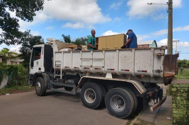 23 famílias retornam para casa após cheia do rio em São Sebastião do Caí Pedro Griebler / Defesa Civil /Defesa Civil