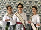 Trajes oficiais das soberanas da Festa do Agricultor, de Caxias, serão apresentados domingo Nicolli Pasquiali/Divulgação