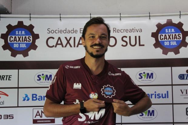 Caxias confirma segundo reforço para o Gauchão 2020 Vitor Soccol / SER Caxias / Divulgação/SER Caxias / Divulgação