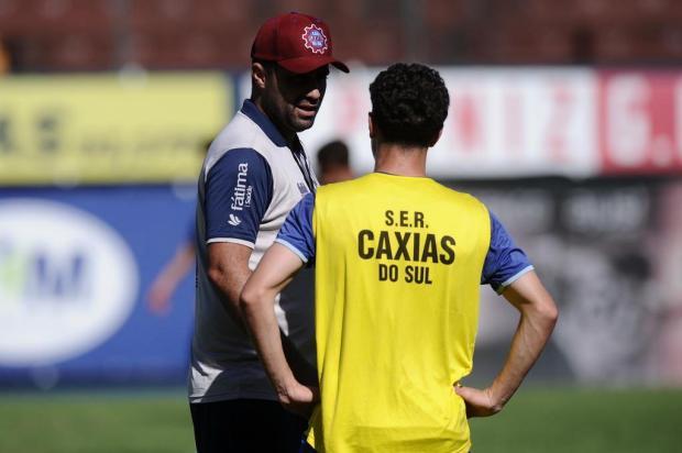 Com mudanças no onze inicial, Caxias encaminha equipe para enfrentar o Pelotas Antonio Valiente/Agencia RBS