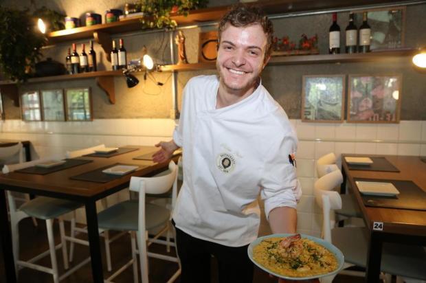 Conheça Arthur De Antoni Perini, o jovem chef que comanda o Q Restaurante ao lado do pai, em Caxias Leandra Romani/Divulgação