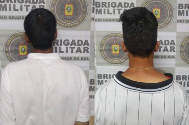 Dois menores são apreendidos por desobediência e posse de entorpecentes em Farroupilha Divulgação / Brigada Militar/Brigada Militar