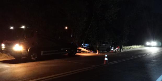 Homem morre após bater carro em árvore em São Marcos Divulgação / PRF/PRF