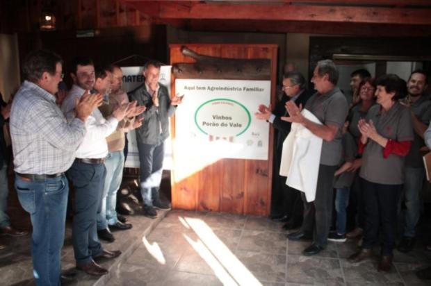 Segunda agroindústria de vinho colonial é inaugurada em Bento Gonçalves Prefeitura de Bento Gonçalves/Divulgação