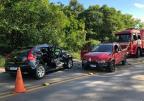 Homem morre em acidente na ERS-122, em Caxias (Greici Mattos / RBS TV/RBS TV)