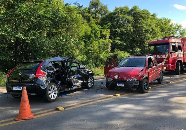 Homem morre em acidente na ERS-122, em Caxias Greici Mattos / RBS TV/RBS TV