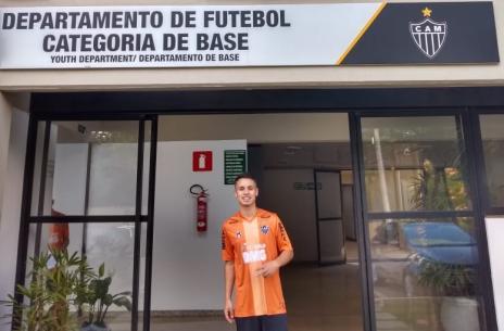 Jovem revelado pelo Caxias acerta com clube da Série A (Divulgação / Arquivo Pessoal/Arquivo Pessoal)