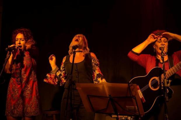 Sesc Bento recebe trio de cantoras Crê Tinas Adriana Marchiori/Divulgação