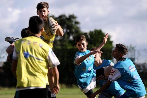 Serra Gaúcha Rugby aliou projeto social com a formação de novos atletas para a modalidade Antonio Valiente/Agencia RBS