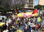 Adesão à greve dos professores é parcial em Caxias do Sul Fernando Gomes/Agencia RBS
