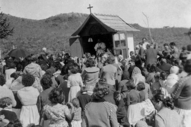 Santa Lúcia do Piaí: o capitel de Caravagginho Acervo de família/divulgação