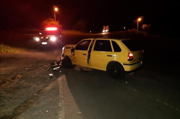 Motorista embriagado fica ferido ao se envolver em acidente na BR 116 em São Marcos PRF/Divulgação