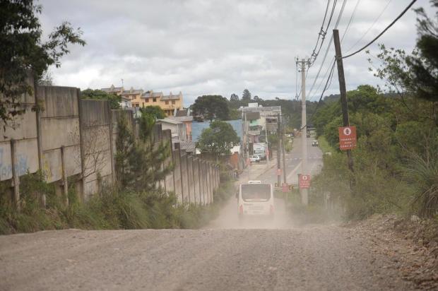 Moradores cobram melhorias no acesso ao Loteamento Industrial, em Caxias Lucas Amorelli/Agencia RBS