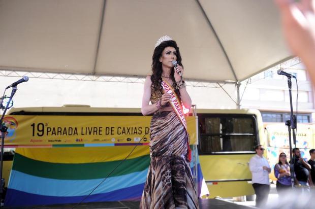 Celebração da liberdade e indiretas ao Governo Daniel Guerra marcam início da 19ª Parada Livre de Caxias do Sul Marcelo Casagrande/Agencia RBS