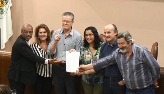 Presidente da Câmara promulga Plano Diretor de Caxias Reprodução / Reprodução/Reprodução