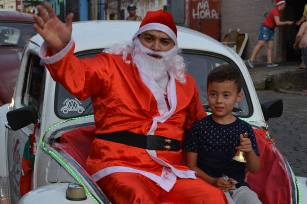 Caravana de Fuscas do Papai Noel busca doações de doces em Caxias Neusa Sonda / Arquivo pessoal/Arquivo pessoal