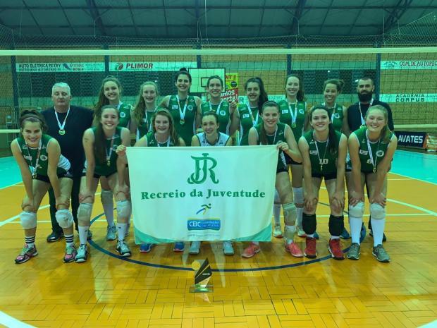Recreio da Juventude é campeão Estadual de Vôlei Divulgação / Divulgação/Divulgação