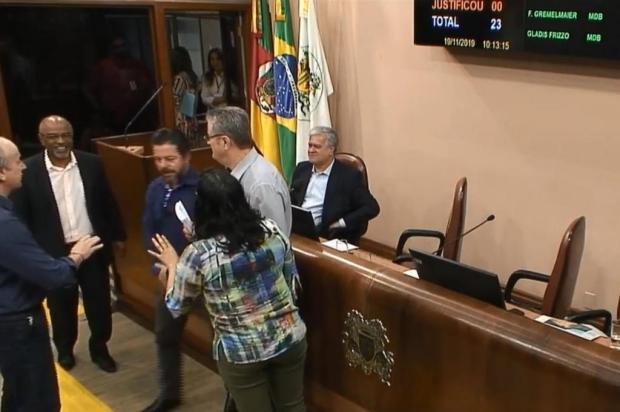 A fala do presidente da Câmara de Vereadores diante das ações governistas Youtube/Reprodução