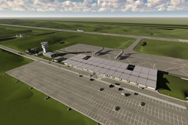 Prefeitura de Caxias pede autorização de empréstimo para desapropriações do Aeroporto Regional da Serra Gaúcha Seplan/Divulgação