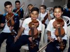 Criança Esperança custeou projeto Orquestrando a Inclusão, da Associação Criança Feliz Andresa Brandão/Divulgação